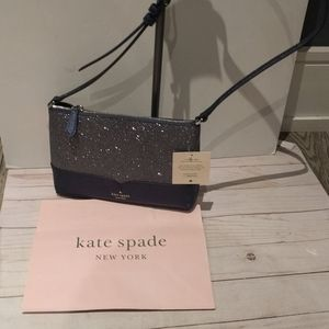 Beautiful sparkly crossbody bag by Kate Spade 🌸